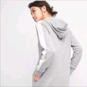 •GAP• Hooded Sweatshirt Dress